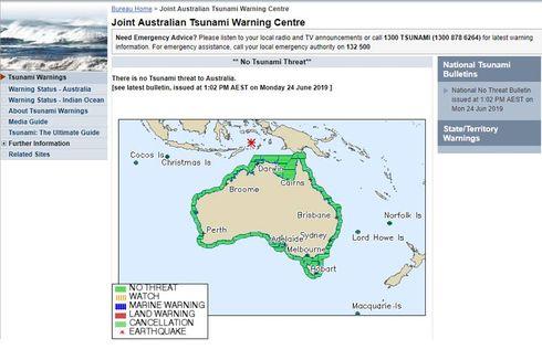 Gempa Berkekuatan 7,4 M di Laut Banda Dirasakan hingga Australia