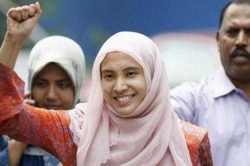 Sempat Ditahan Semalam, Putri Anwar Ibrahim Dibebaskan