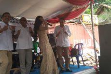 Sandiaga Uno Joget Jempol Dengar Dangdut di Acara Gerindra