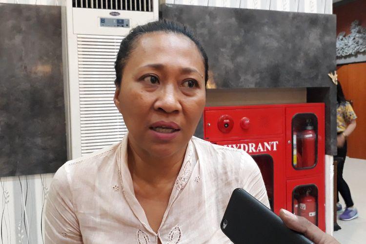 Ni Luh Djelantik saat ditemui di Denpasar, Sabtu (21/9/2019)