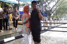 Ridwan Kamil Ajak Warga Main Air Saat Resmikan Restorasi Sungai Cikapayang
