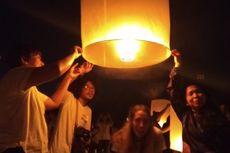 Penerbangan Ribuan Lampion Tutup Peringatan Waisak 2019 di Candi Borobudur