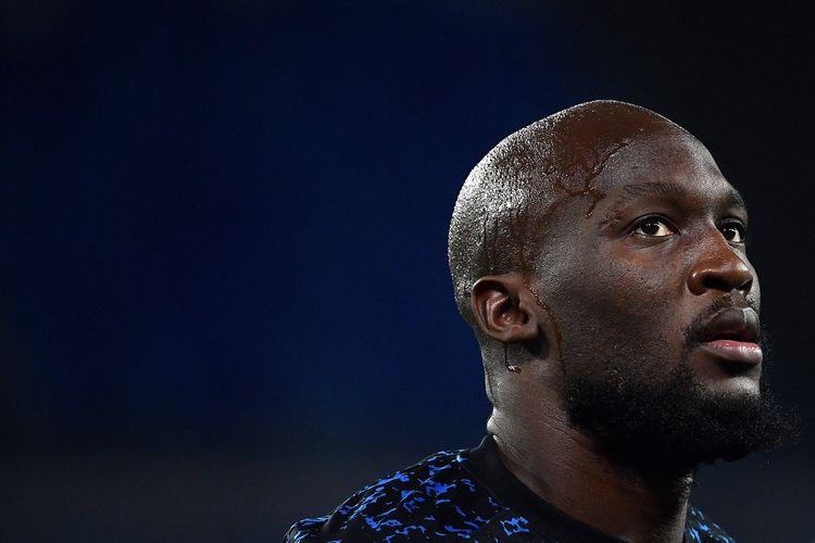 Mantan pemain Inter Milan yang kini telah kembali ke pelukan Chelsea, Romelu Lukaku.