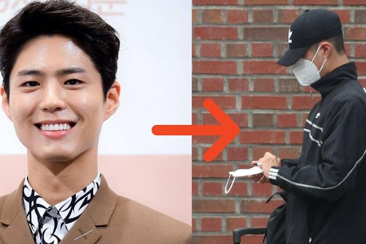 Aktor Korea, Park Bo Gum memulai wamil pada hari ini, 31 Agustus 2020
