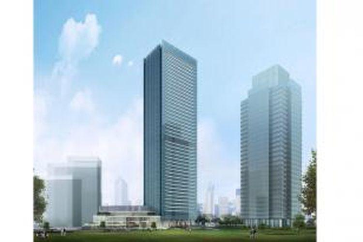 Render WTC 3 Sudirman, Jakarta.