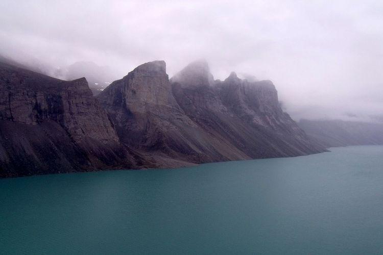 Ilustrasi Pulau Baffin di Kanada Utara. Peneliti menemukan benua kuno di bawah Pulau Buffin modern ini dengan mempelajari kerak batuan dari mantel Bumi di pulau ini.