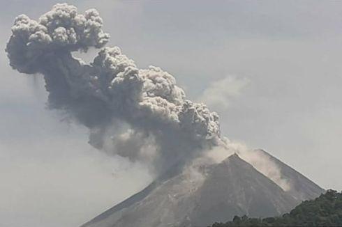 Gunung Merapi Meletus, Tak Pengaruhi Penerbangan