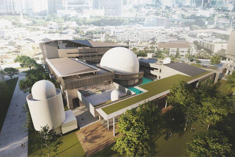 Desain revitalisasi Komplek Taman Ismail Marzuki