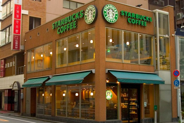 Starbucks di Jepang
