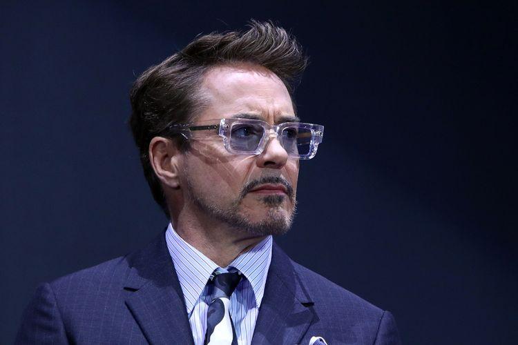 Robert Downey Jr menghadiri acara fan event film Avengers: Endgame Seoul, Korea Selatan, pada 15 April 2019.