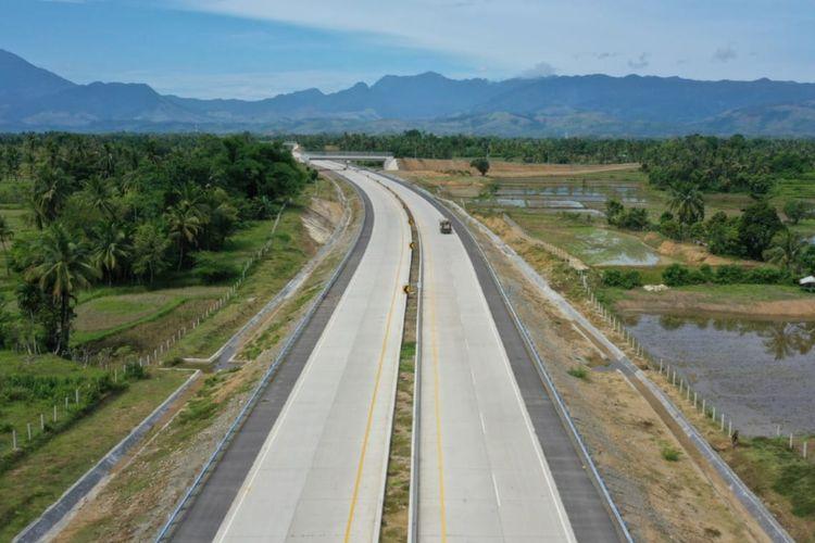 Ilustrasi jalan Tol Trans Sumatera