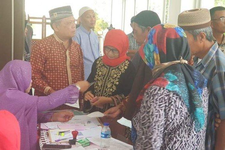 Bidang PHU Kanwil Kemenag DIY bekerja sama dengan Ditintelkam Polda DIY membubarkan seminar berkedok pendaftaran haji murah pada Rabu (11/3/2020).