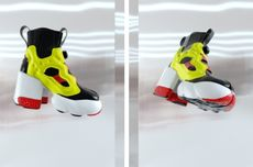 Sneaker dengan Hak Tinggi, Kolaborasi Reebok x Maison Margiela