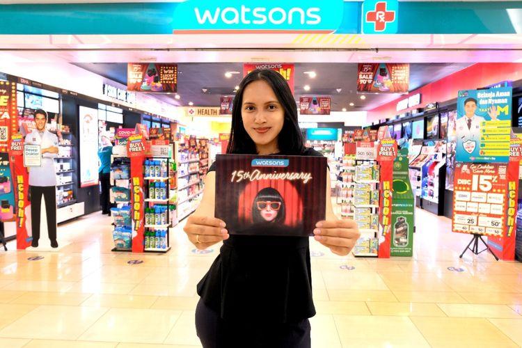 Menyambut Hari Jadi Ke-15, Watsons Tebar Promo Hingga 70 Persen