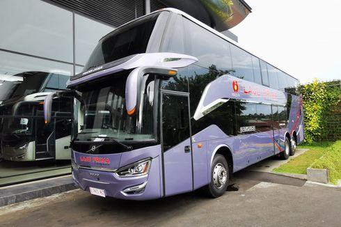 Bus Tingkat Terbaru Ramaikan Transjawa, PO Laju Prima dan Murni Jaya