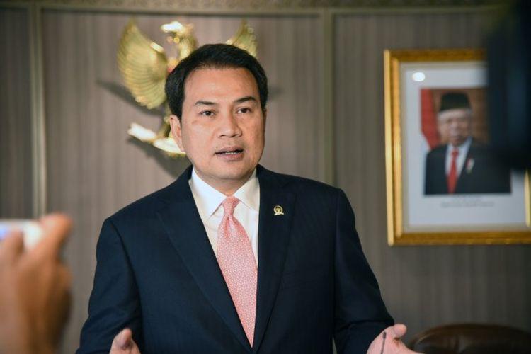 Wakil Ketua DPR RI Koordinator Bidang Politik dan Keamanan (Korpolkam) M Azis Syamsuddin mengapresiasi adanya SKB Tiga Menteri yang diteken pada Rabu (3/2/2021).