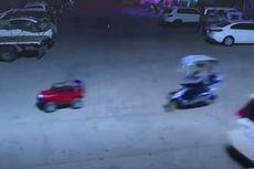 Anak Usia 5 Tahun Setir Mobil Mainan di Jalan Raya, Orangtua Ditilang