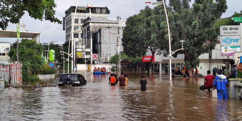 Banjir Jakarta dalam Warta Media Asing