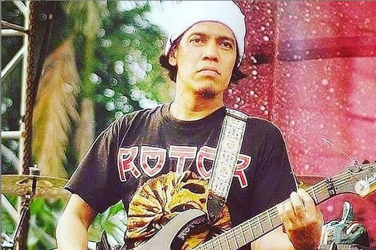 Irfan Sembiring yang dikenal lewat band metal, Rotor