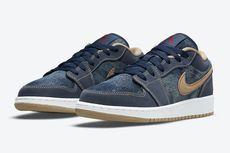 Terbaru, Sneaker Air Jordan 1 Versi Low Pakai Bahan Denim