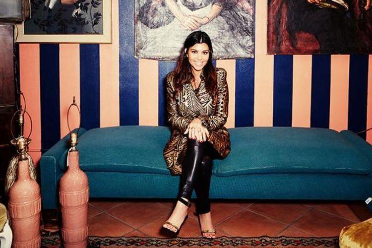 Salah satu anggota Kardashian bersaudara, Kourtney Kardashian, membeberkan rencananya terjun ke dunia desain interior.