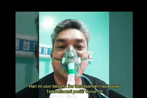 Video Viral Wali Kota Banjarbaru Pakai Masker Oksigen Umumkan Positif Covid-19, Ini Katanya
