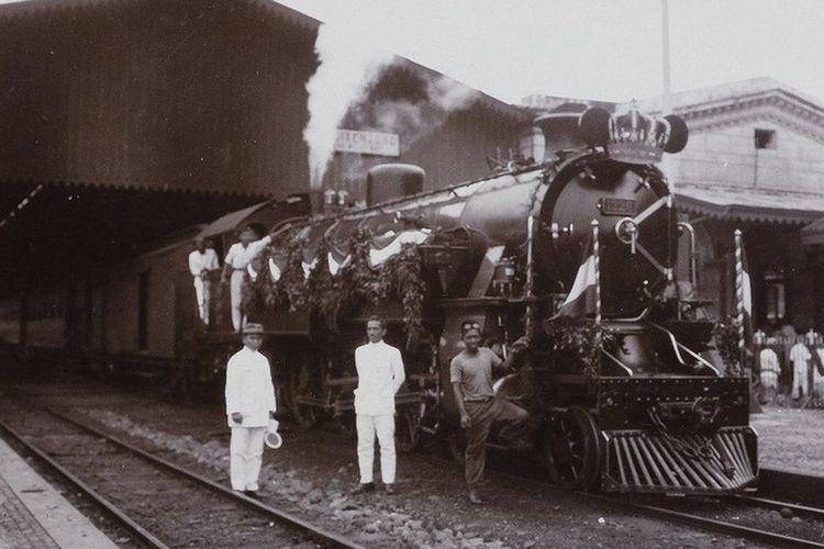 Stasiun Bogor sekitar tahun 1927.