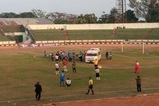 Kepanikan di Laga Blitar Bandung United vs Babel United, Pemain Nyaris Tewas karena Lidah Tertelan