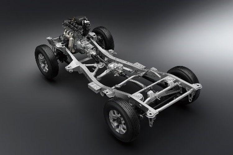 Suzuki Jimny versi kendaraan niaga tak mendapat ubahan teknis dari versi sebelumnya.
