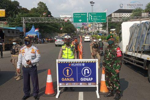 19-20 Oktober Berlaku Ganjil Genap di Puncak Bogor dan Sentul, Antisipasi Libur Maulid Nabi