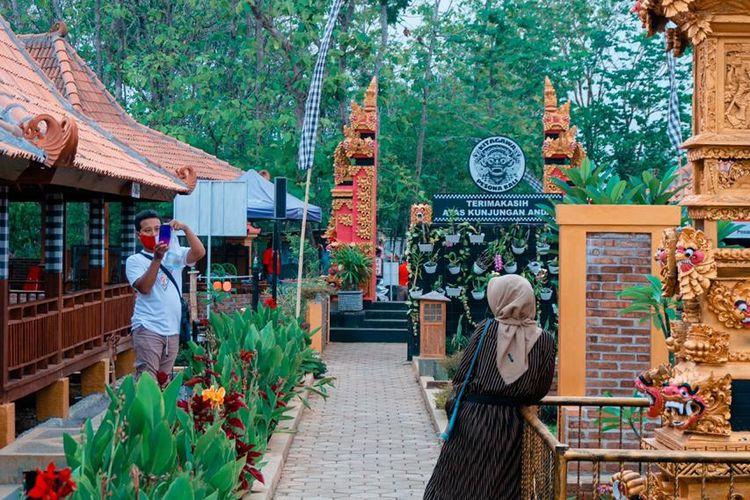 Tempat wisata di Wonogiri - Tempat wisata baru bernama Kitagawa Pesona Bali atau Kampung Bali di Wonogiri, Jawa Tengah.