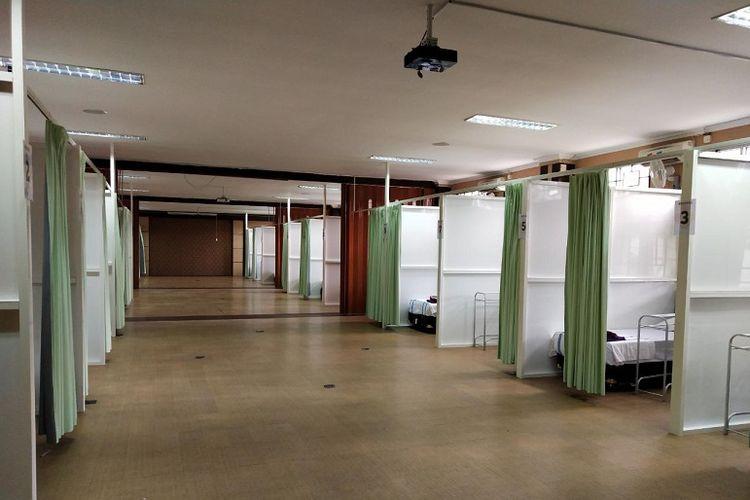 Ruang perawatan pasien Covid-19 di Kota Semarang, Jawa Tengah