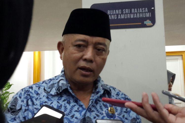 Plt Bupati Malang Sanusi saat ditemui di Kantor Bupati Malang, Senin (17/6/2019)