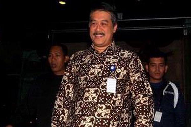Wakil Ketua Pusat Pelaporan dan Analisis Transaksi Keuangan (PPATK) Agus Santoso