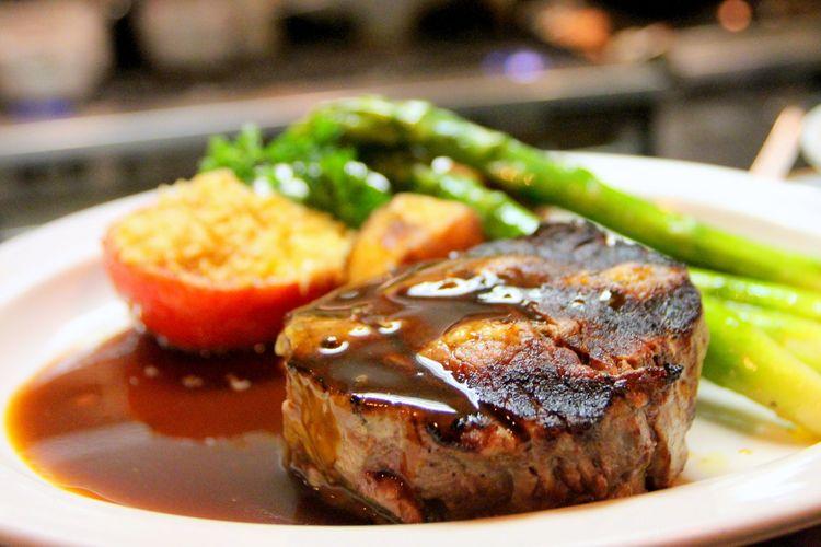 Ilustrasi steak premium.