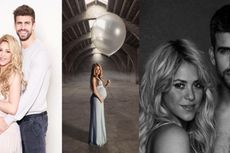 Pique Absen Saat Shakira Ultah dan Tampil Memukau dalam Super Bowl
