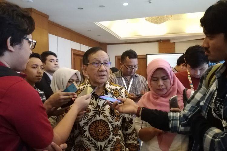 Ketua Dewan Penasihat Majelis Nasional Korps Alumni Himpunan Mahasiswa Islam (KAHMI) Akbar Tandjung