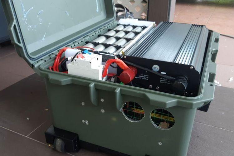 EV powerbank buat mobil listrik.