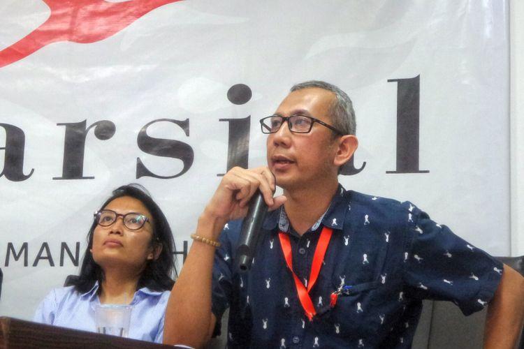 Peneliti Lembaga Studi Pertahanan dan Studi Strategis Indonesia (Lesperssi) Beni Sukadis.