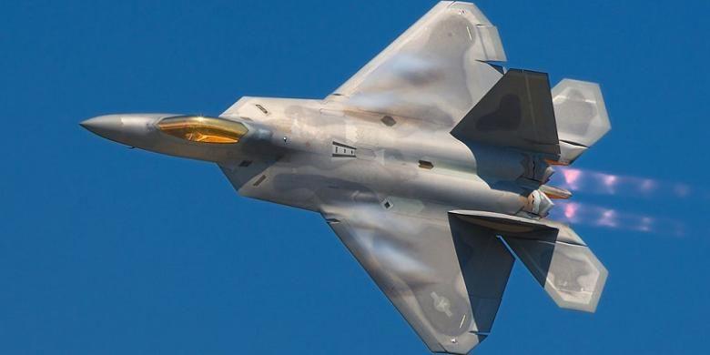 Jet tempur siluman F-22 Raptor