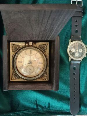 Beberapa koleksi Old Timer vintage watch yang dipajang di Kemang Vintage Shop, Jakarta Selatan.
