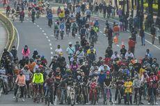 Car Free Day Perdana di Masa Pandemi, 3.000 Warga Padati Area CFD di Bekasi