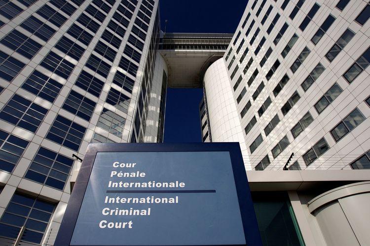 Gedung International Criminal Court (ICC) di Den Haag, Belanda. Foto diambil pada 3 Maret 2011.