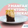 INFOGRAFIK: 7 Manfaat Kantong Teh Bekas