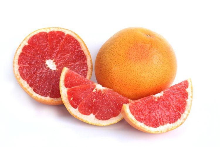 Ilustrasi grapefruit