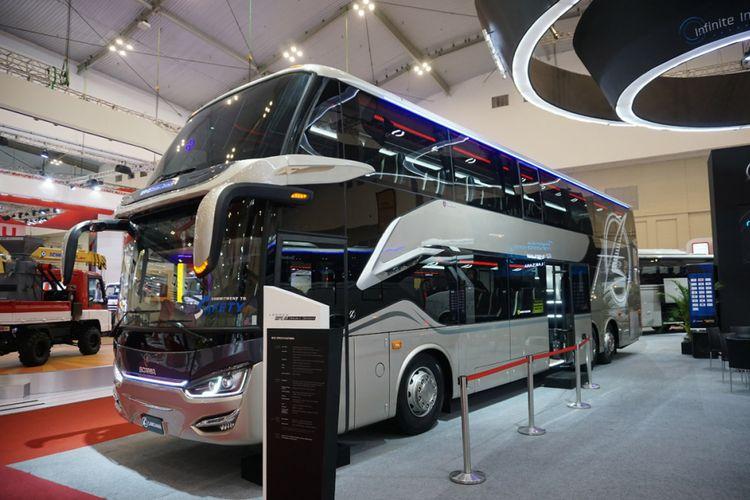 Bus-bus tingkat di GIIAS 2018