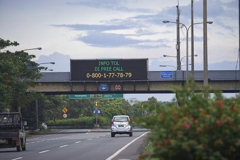 231.855 Kendaraan Keluar Jakarta Melalui Tol Tangerang-Merak