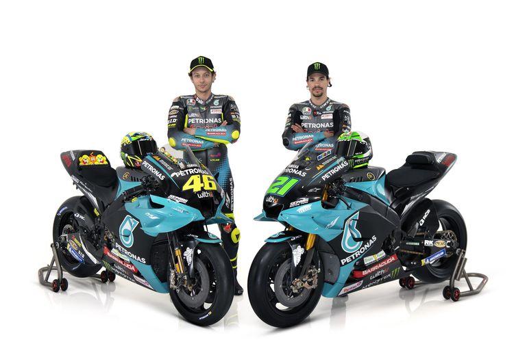 Rossi dan Morbidelli Pamer Livery Baru Petronas Yamaha SRT