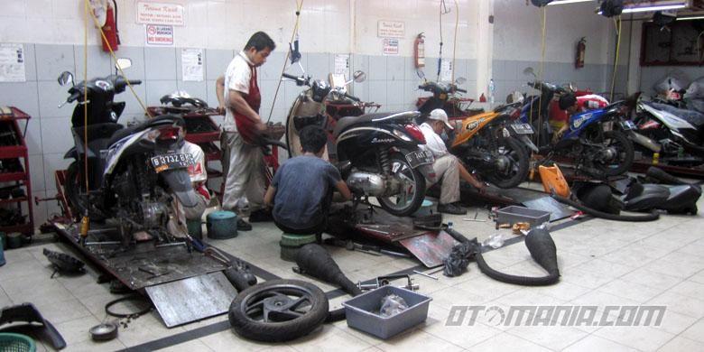 Bengkel AHASS Palmerah Motor.