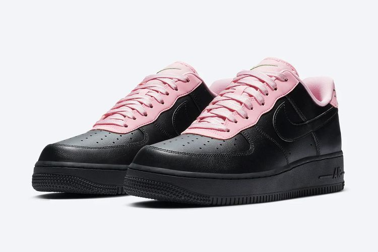 Nike Air Force 1 Black-Pink
